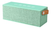 Fresh 'n Rebel haut-parleur Bluetooth Rockbox Brick Fabric Edition mint-Avant
