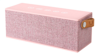 Fresh 'n Rebel luidspreker bluetooth Rockbox Brick Fabric Edition roze