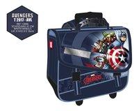 Trolley-boekentas Avengers blauw 41 cm