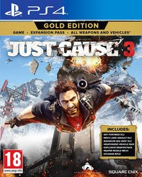 PS4 Just Cause 3 Gold Edition FR/ANG