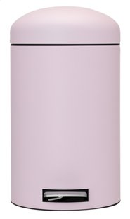 Brabantia poubelle à pédale Retro Bin 12 l Mineral Pink