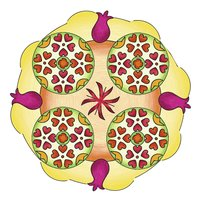 Ravensburger Original Mandala-Designer Flowers & Butterflies-Afbeelding 1