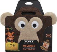Port Designs universele opbergtas aap voor tablet-pc 7-8'' bruin-Vooraanzicht
