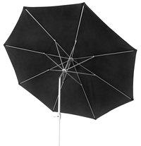 Parasol en aluminium diamètre 3,5 m noir-Détail de l'article