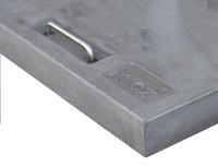Tuozi Betonnen parasolvoet Stealth 50 ROLL 50 kg grijs-Artikeldetail