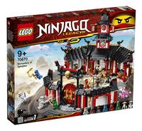 LEGO Ninjago 70670 Le monastère de Spinjitzu-Côté gauche