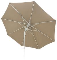 Aluminium parasol diameter 3,5 m taupe-Artikeldetail
