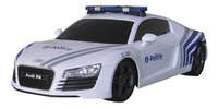 XQ voiture RC Audi R8 Police belge