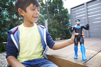 Batman figurine articulée Basic Nightwing-Image 1