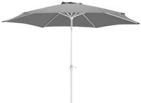 Aluminium parasol diameter 3 m grijs