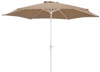 Aluminium parasol diameter 3 m taupe