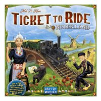 Ticket to Ride: Nederland-Vooraanzicht