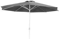 Parasol en aluminium diamètre 3,5 m noir-Avant