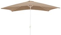 Parasol en aluminium 2 x 3 m taupe-Avant