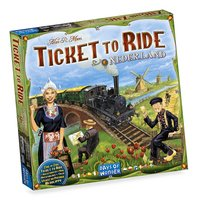 Ticket to Ride: Nederland-Linkerzijde