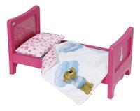 BABY born bed met mobiel-Linkerzijde