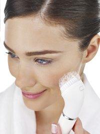 Braun Brosse nettoyante avec épilateur pour visage Face SE810-Image 1