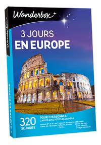 Wonderbox 3 jours en Europe-Avant
