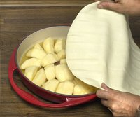 Le Creuset plat à tarte Tatin rouge-Image 2