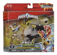 Set Power Rangers Mixx N Morph Dino Charge Gold Ranger & Ptera Zord