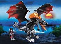 Playmobil Dragons 5482 Grote Koningsdraak met lichtgevende vlam-Afbeelding 1