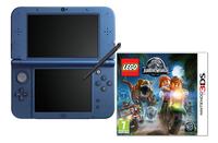 Nintendo console New 3DS XL bleu + Lego Jurassic World ANG