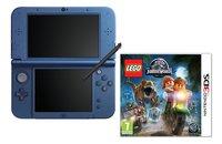 Nintendo console New 3DS XL bleu + Lego Jurassic World FR