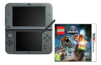 Nintendo console New 3DS XL noir + Lego Jurassic World FR