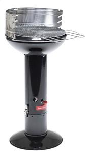 Barbecook houtskoolbarbecue Optima zwart-Linkerzijde