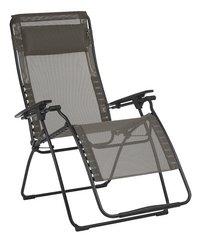 Lafuma chaise longue Futura XL Batyline Graphite-Côté gauche
