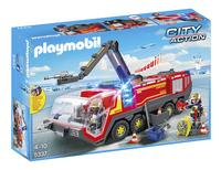 Playmobil City Action 5337 Pompiers avec véhicule aéroportuaire