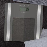 Salter Pèse-personne/impédancemètre Ultra Slim SA9158SV3R gris argenté-Image 1
