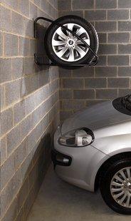 Mottez support mural pour pneus de voiture