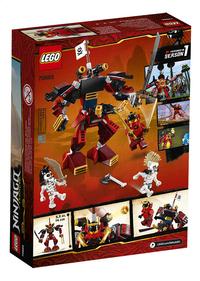LEGO Ninjago 70665 Le robot samouraï-Arrière