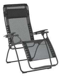 Lafuma chaise longue Futura Batyline Black noir-Côté gauche
