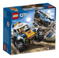 LEGO City 60218 Woestijn rallywagen-Achteraanzicht