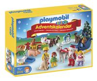 Playmobil Christmas 9009 Calendrier de l'Avent 1.2.3 Noël à la ferme-Avant