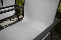 Tuinstoel Forios grijs/antraciet-Afbeelding 1
