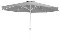 Parasol en aluminium diamètre 3,5 m gris-Avant