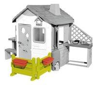 Smoby espace jardin pour maisonnettes Neo Jura Lodge et My Neo House-Avant
