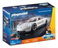 PLAYMOBIL The Movie 70078 Rex Dasher et Porsche Mission E-Côté gauche