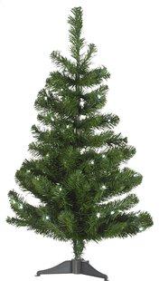 Kerstboom Boulder met ledverlichting warm wit 90 cm