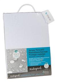 Matrasbeschermer (hoes) waterproof tencel/polyurethaan (PU) B 90 x L 200 cm-Linkerzijde