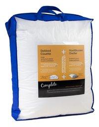 Couette pour lit et oreiller Lg 140 x L 200 cm
