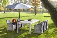 Table de jardin Ulm Grey Wash 220 x 100 cm-Image 2