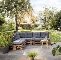 Madison coussin pour palette assise Florance 120 x 80 Saphir Blue-Image 1