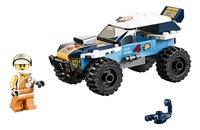 LEGO City 60218 Woestijn rallywagen-Vooraanzicht