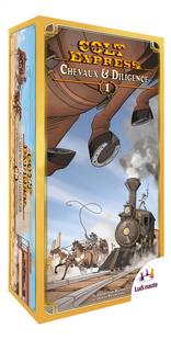 Colt Express extension : Chevaux et Diligence