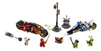 LEGO Ninjago 70667 La moto de Kai et le scooter des neiges de Zane-Avant