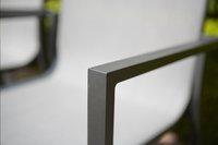 Tuinstoel Forios grijs/antraciet-Afbeelding 3